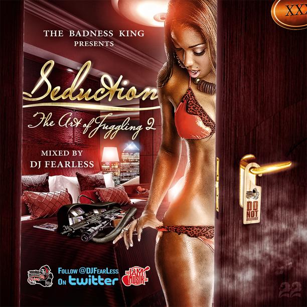 DJ FearLess - Seduction (Art Of Juggling 2) Mixtape - Cover