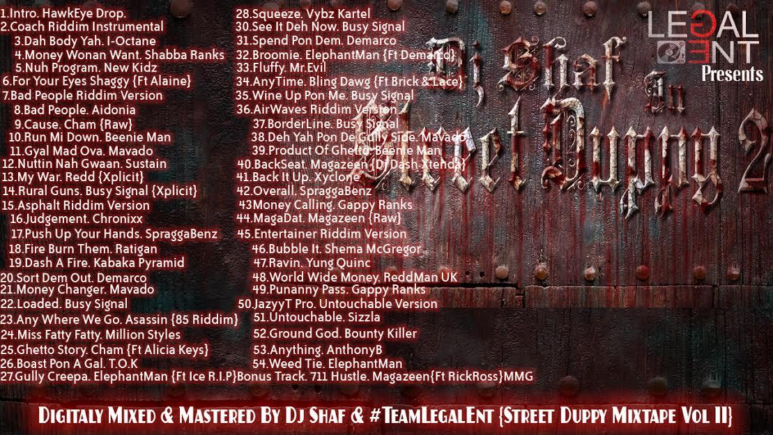 Street Duppy Vol 2 Mixtape By Dj Shaf 1 yardhype