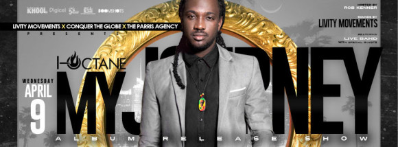 Reggae Superstar I-Octane Ready for NYC Album Release Show at SOBs